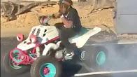 Lil Uzi Vert Hits Donuts On Custom Made ATV