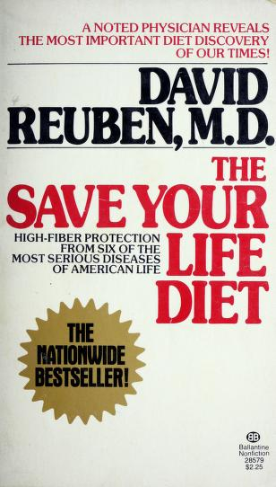 Cover of: Save Yr Life Diet | David Md Reuben